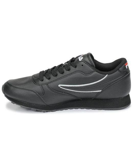 Fila Lage Sneakers Orbit Low in het Black voor heren