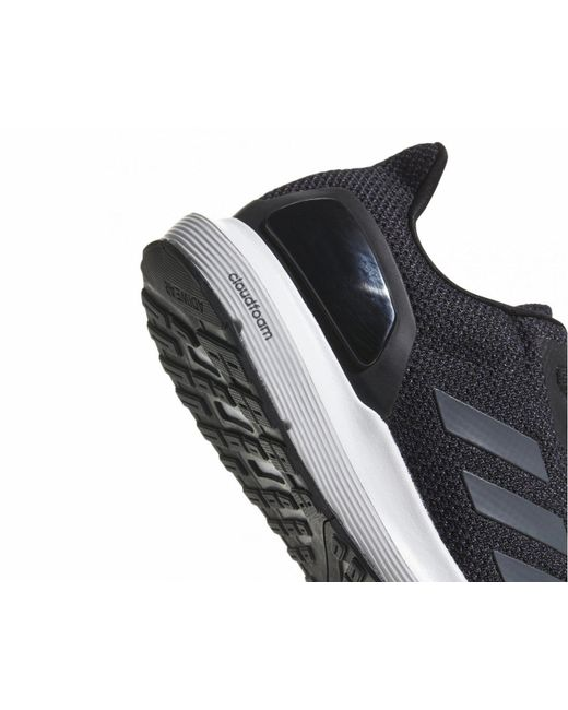 new concept 8e239 cfb71 ... Adidas - Cosmic 2 Cloudfoam Trainers Black for Men - Lyst ...