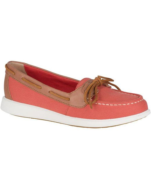 Sperry Top-Sider - Red Women's Angelfish Boat Shoe - Lyst