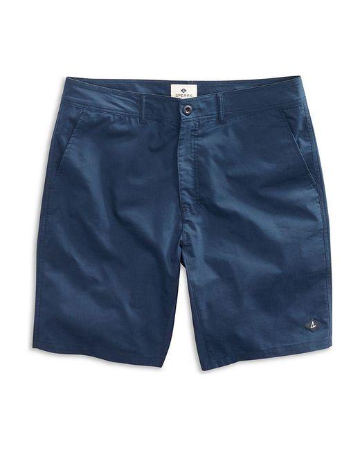 Sperry Top-Sider Blue Men's Solid Swim Short for men