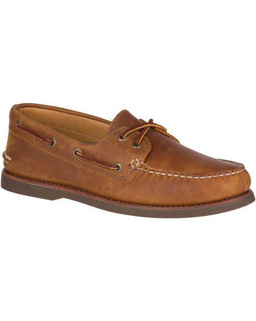 Sperry Top-Sider - Brown Men's Gold Cup Authentic Original Boat Shoe for Men - Lyst