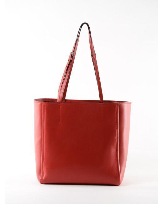 eba57450d731 ... Prada - Red Concept Tote - Lyst ...