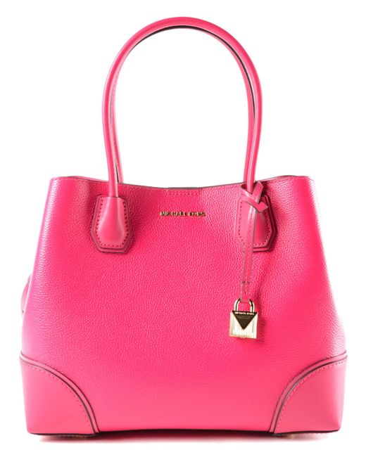 Michael Kors - Pink Mercer Gallery Md Center Zip Tote - Lyst