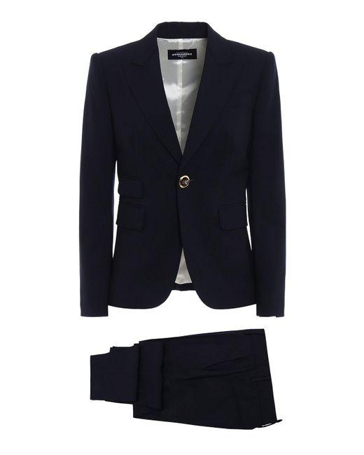DSquared² | Blue Jacket+pants | Lyst