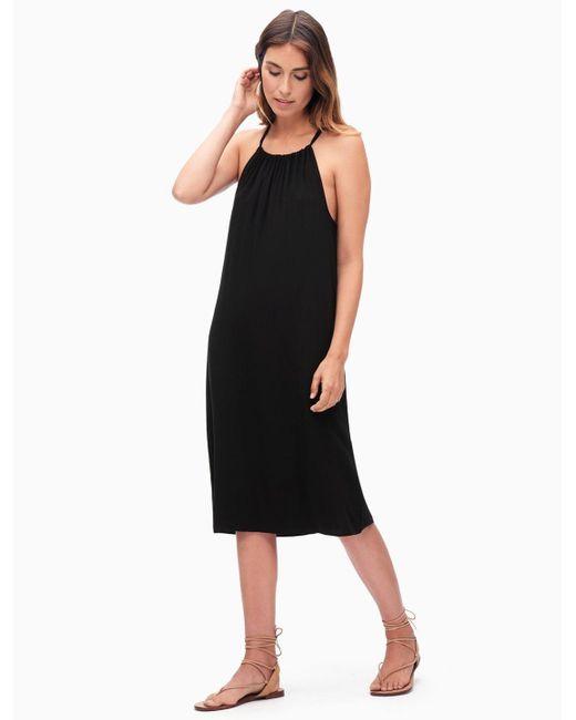 Splendid | Black Midi Dress | Lyst