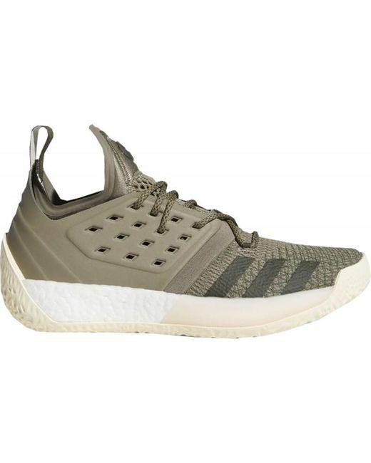 Chaussure de Basketball James Harden Vol.2 Vert kaki adidas pour ...