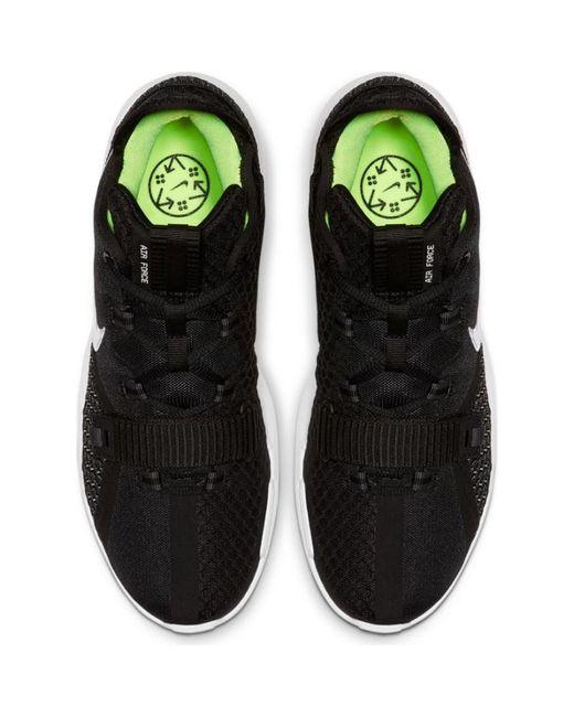 Chaussure de Basket Nike Air Force Max Low Noir Nike pour homme en ...