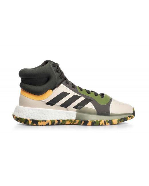 Chaussure de Basketball Marquee Boost Vert Adidas pour homme en coloris Multicolor
