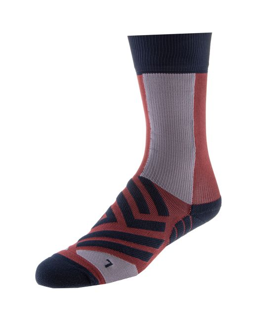 On Blue High Sock Laufsocken