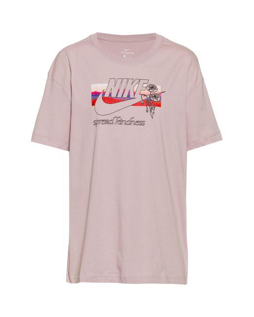 Nike Pink NSW Collage T-Shirt