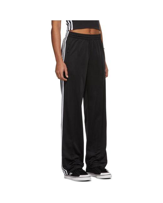 Adidas Originals ブラック Firebird Tp ラウンジ パンツ Black