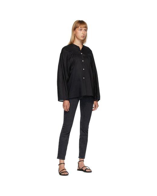 Totême  ブラック Moncton シャツ Black