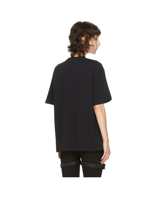 A_COLD_WALL* * ブラック クラシック ロゴ T シャツ Black