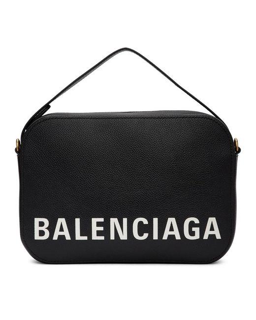 メンズ Balenciaga ブラック ヴィル カメラ バッグ Black