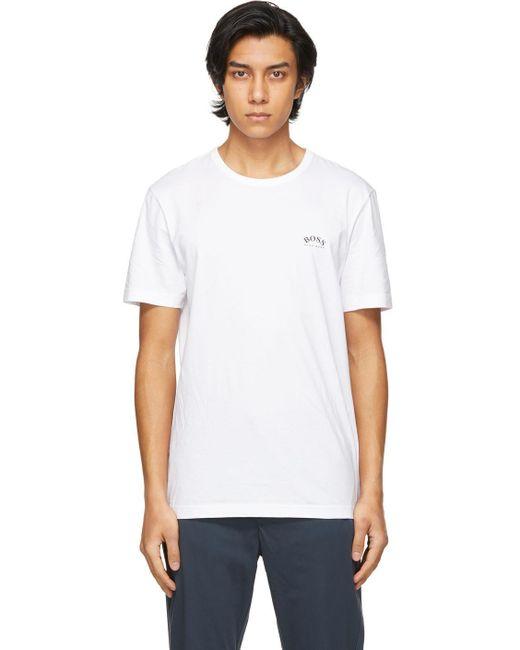 メンズ BOSS by Hugo Boss ホワイト T シャツ White