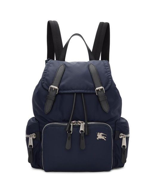 Burberry - Blue The Small Rucksack Backpack - Lyst