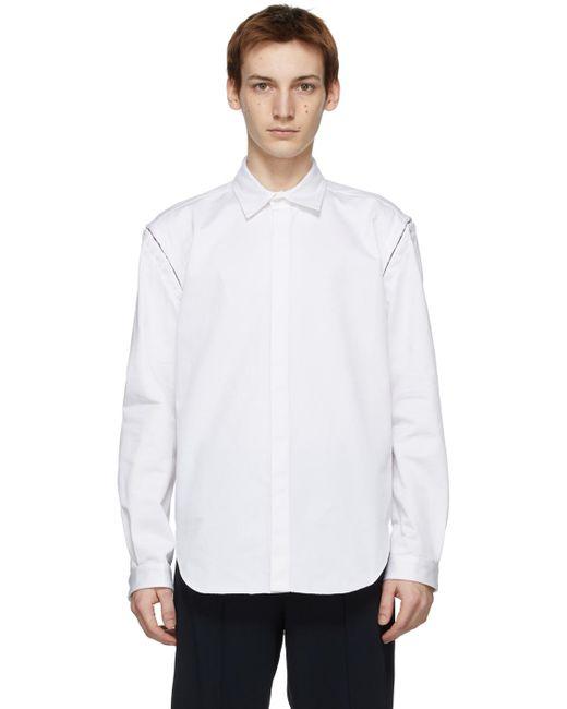 メンズ Dion Lee ホワイト シャツ White