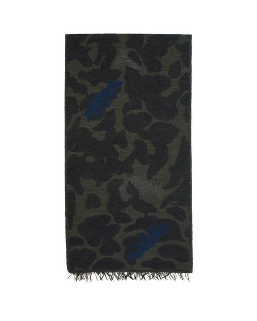 PS by Paul Smith - Blue Foulard bleu marine Fennex Fox for Men - Lyst
