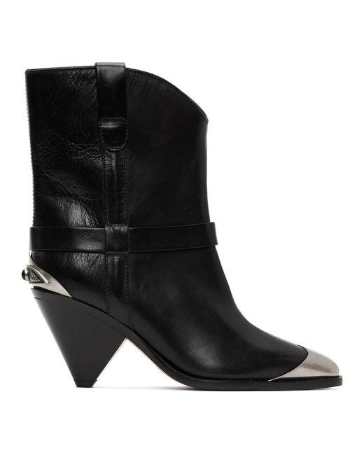 Isabel Marant ブラック Lamsy ブーツ Black