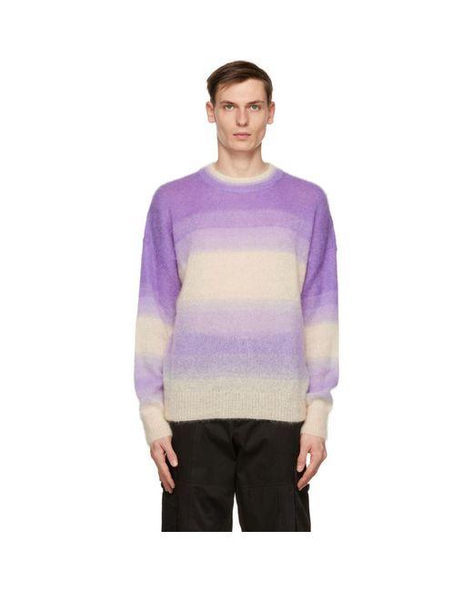 メンズ Isabel Marant パープル Drussellh セーター Purple