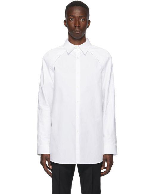メンズ Valentino ホワイト Bolero シャツ White