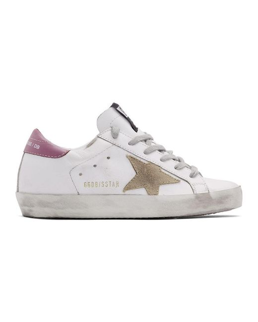 Golden Goose Deluxe Brand Ssense 限定 ホワイト And ピンク スーパースター スニーカー Pink