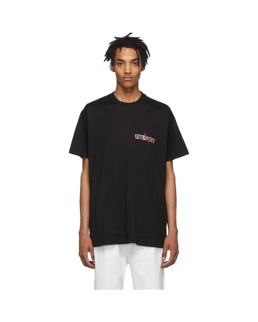 メンズ Givenchy ブラック オーバーサイズ スコーピオ T シャツ Black