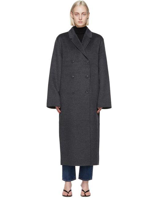 Totême  グレー Double Wool コート Gray