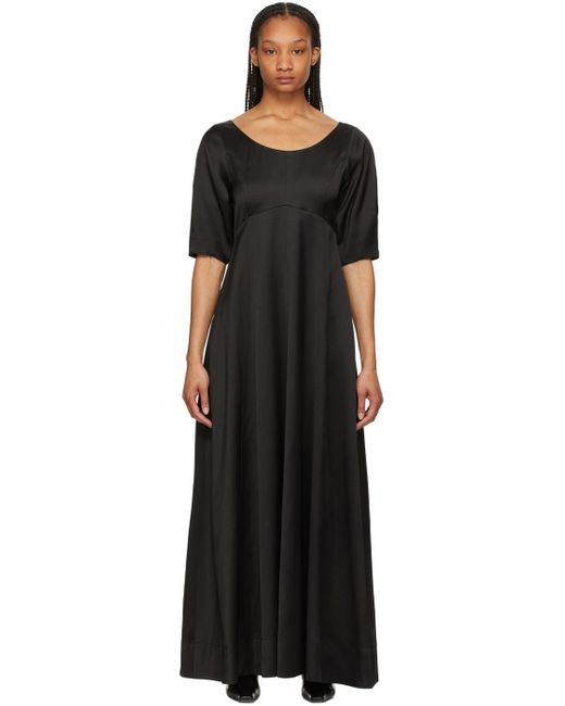 Totême  ブラック マキシ ドレス Black