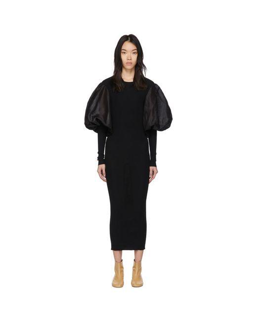 Totême  ブラック Vignola ドレス Black