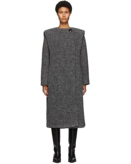 Isabel Marant グレー Gelton コート Gray