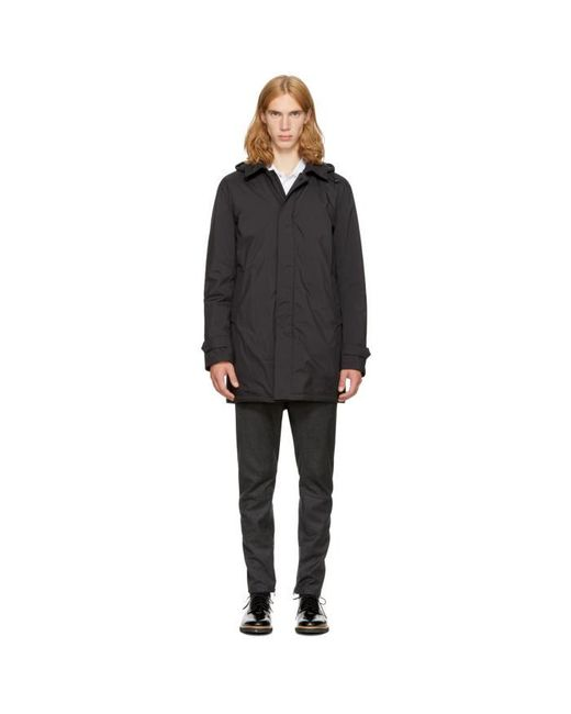 Moncler | Black Down Noe Jacket for Men | Lyst