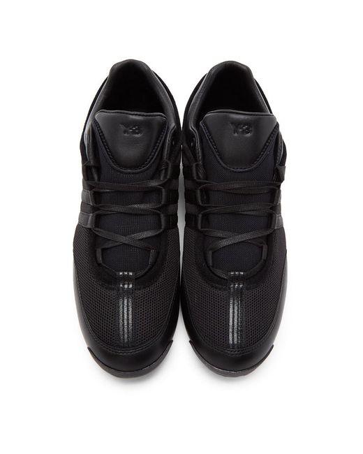 メンズ Y-3 ブラック Boxing スニーカー Black