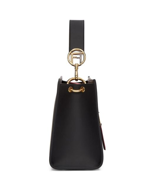 55f8b5dcca ... Fendi - Black Small Forever Runaway Bag - Lyst ...