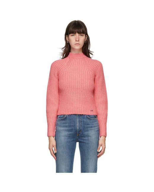 Victoria, Victoria Beckham ピンク ベル スリーブ セーター Pink
