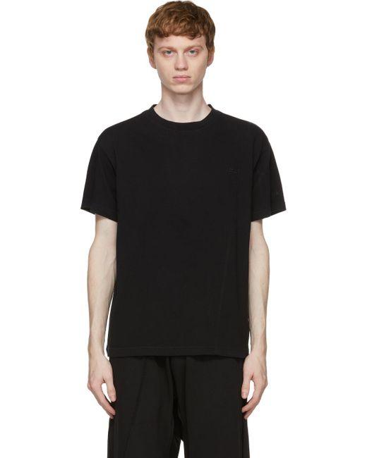 メンズ A_COLD_WALL* * ブラック Essential T シャツ Black