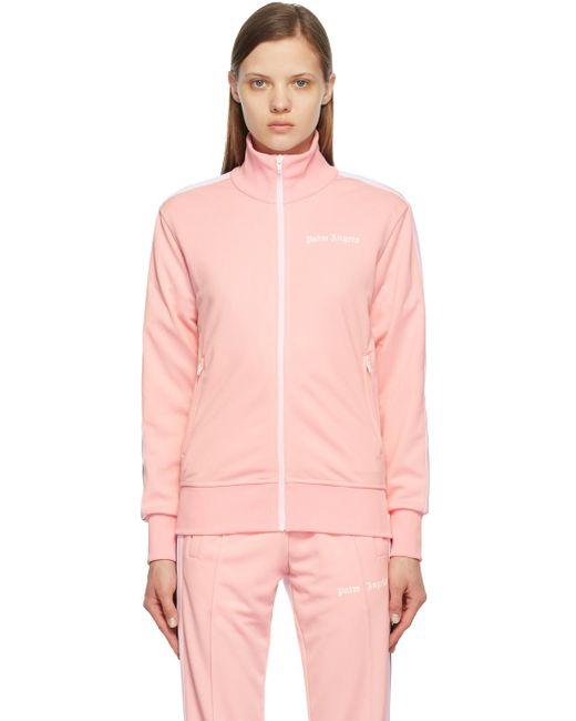 Palm Angels ピンク & ホワイト トラック ジャケット Pink