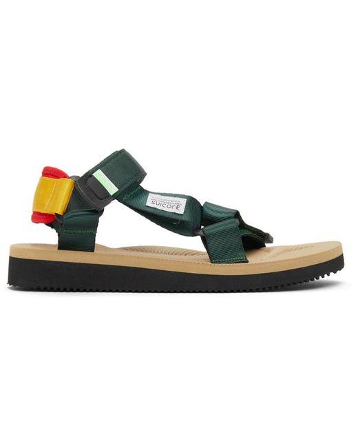 Suicoke Multicolor Depa-cab Sandals for men