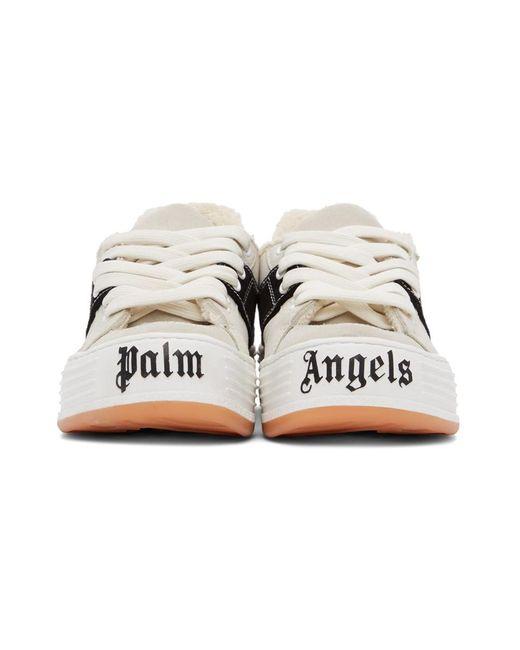 Palm Angels オフホワイト スエード スノー ローカット スニーカー White