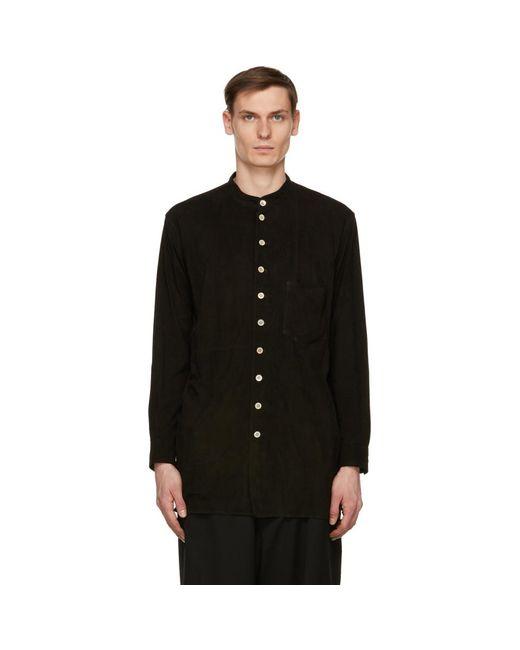 メンズ Bed J.w. Ford ブラック オーバー シャツ ジャケット Black