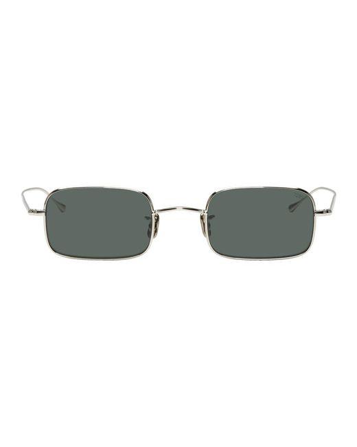 メンズ Eyevan 7285 シルバー 780 サングラス Metallic