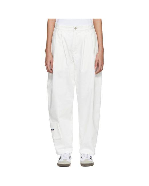 Gosha Rubchinskiy - White Carpenter Fit Jeans - Lyst