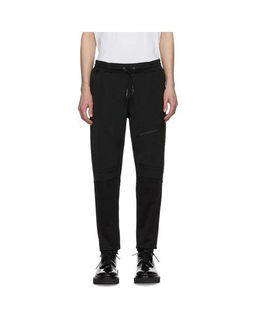 メンズ Givenchy ブラック ウール テック ラウンジ パンツ Black