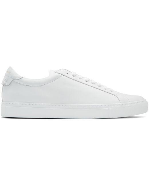 メンズ Givenchy ホワイト Urban Knots スニーカー White