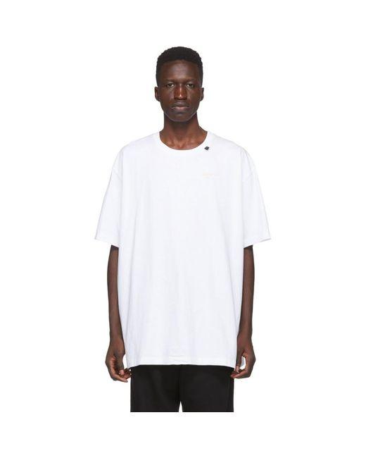 メンズ Off-White c/o Virgil Abloh ホワイト アクリル Arrows T シャツ White