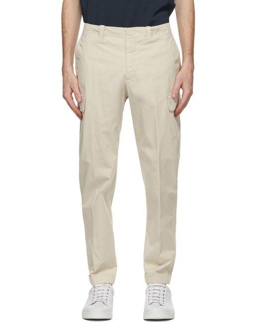 メンズ Z Zegna オフホワイト カーゴ パンツ Multicolor