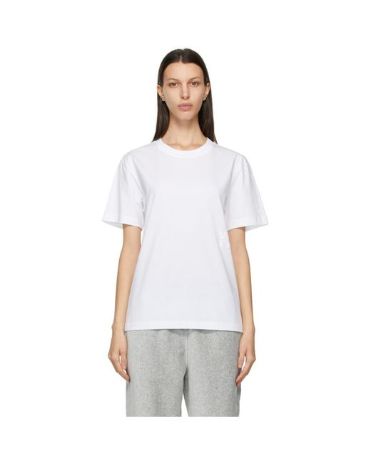 T By Alexander Wang ホワイト Foundation T シャツ White