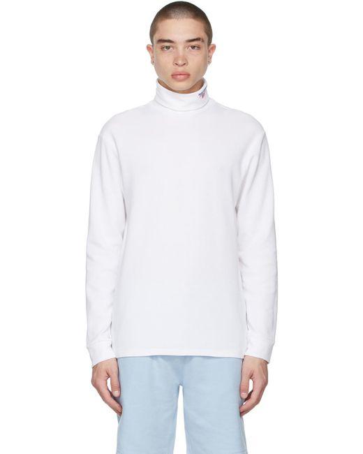 メンズ Polo Ralph Lauren ホワイト ロゴ タートルネック White