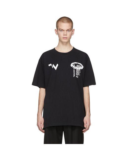 メンズ Off-White c/o Virgil Abloh ブラック Low Res T シャツ Black