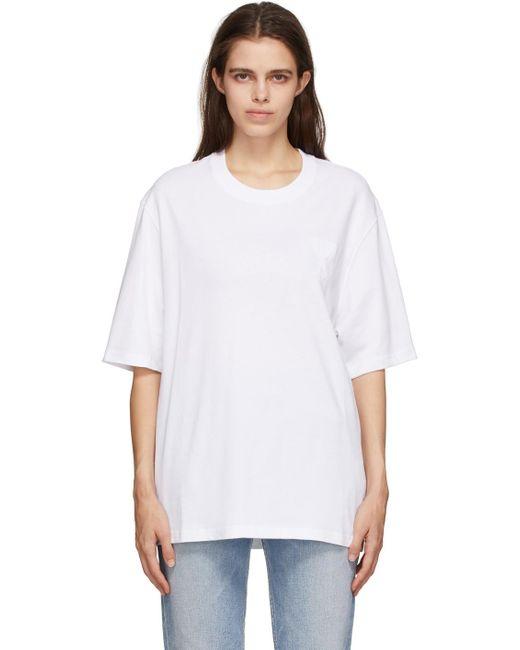 AMI ホワイト Ami De Coeur T シャツ White